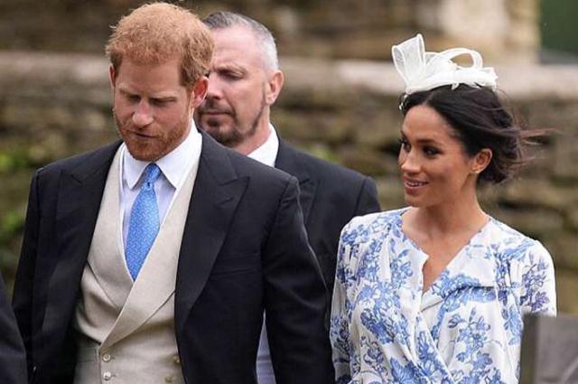 Принц Гарри и Меган Маркл на свадьбе племянницы принцессы Дианы