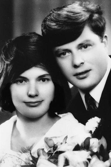 Амалия и Виктор Кнаусс, родители Мелании Трамп