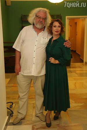 Ольга Тумайкина и Андрей Максимов