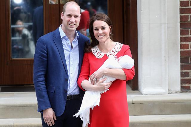 Британцы гадают, кто станет крестным родителем сына принца Уильяма и Кейт Миддлтон