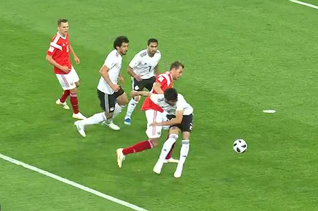 ЧМ-2018: Сборная России обыграла команду Египта и впервые в истории вышла в плей-офф чемпионата мира