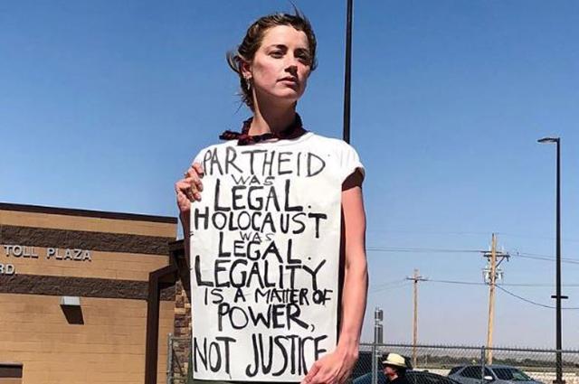 Эмбер Херд, Лена Данэм, Сия и другие звезды выступили с протестом против разделения семей в США