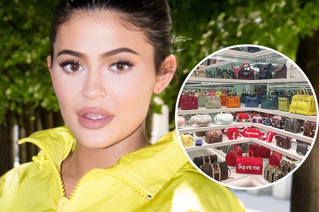 Кайли Дженнер сняла видео про свою коллекцию сумок стоимостью в миллионы долларов
