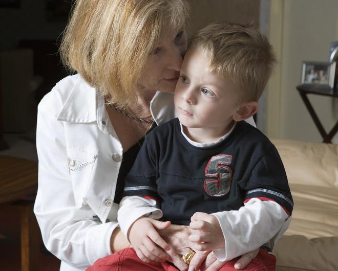 Бабушка не хочет сидеть с внуками