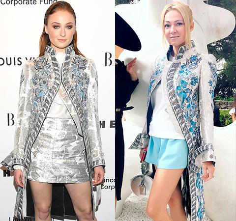 Модная битва: Софи Тернер против Яны Рудковской