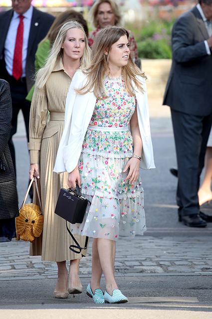 Принцесса Беатрис. 2018 год
