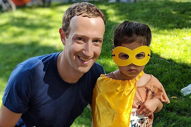 Марк Цукерберг рассказал о спортивном уикенде с женой и детьми