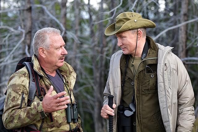 Геннадий Киселев и Владимир Путин