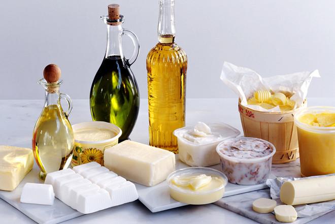 Полезные жиры: продукты