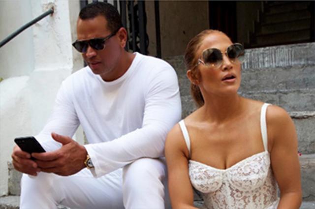 Дженнифер Лопес и Алекс Родригес наслаждаются романтическими каникулами в Италии