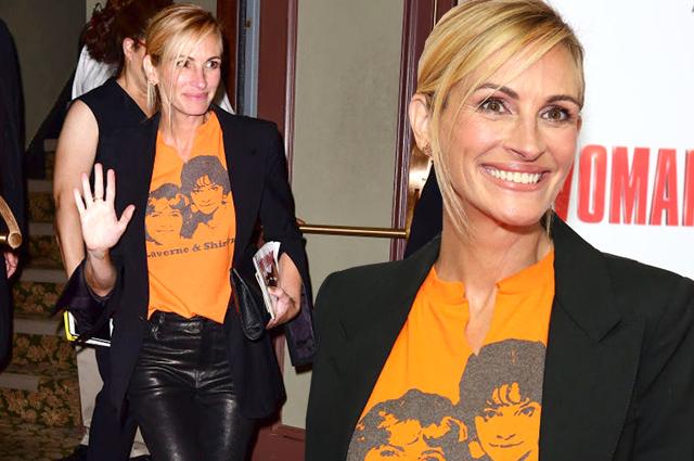 Джулия Робертс посетила бродвейский мюзикл по мотивам фильма
