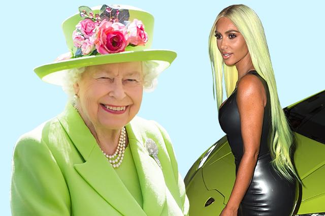 Неономания: как Ким Кардашьян, Дженнифер Лопес и даже королева носят главный цвет сезона