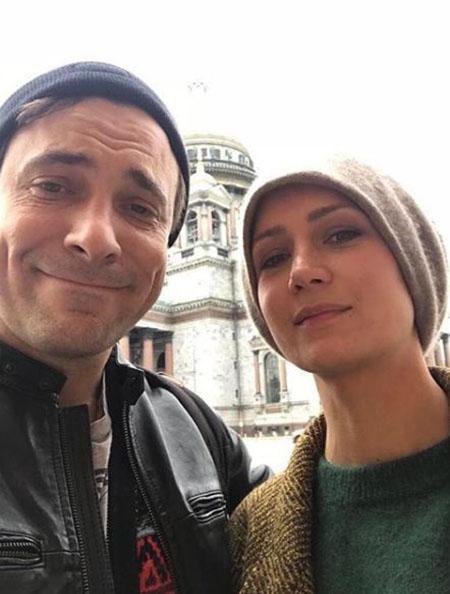 Евгений Цыганов и Виктория Исакова