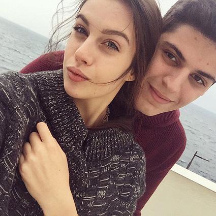 Михаил Семендуев и Диана Червиченко