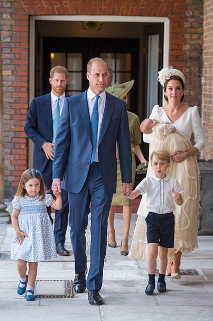 Принц Гарри, Меган Маркл, принц Уильям, принц Джордж, принцесса Шарлотта, Кейт Миддлтон, принц Луи