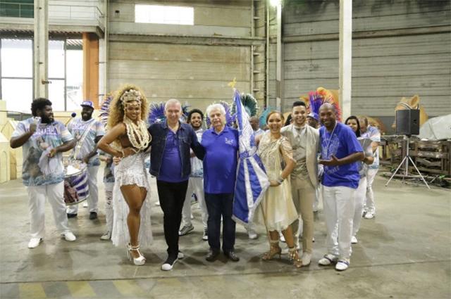 Жан Поль-Готье с танцорами
