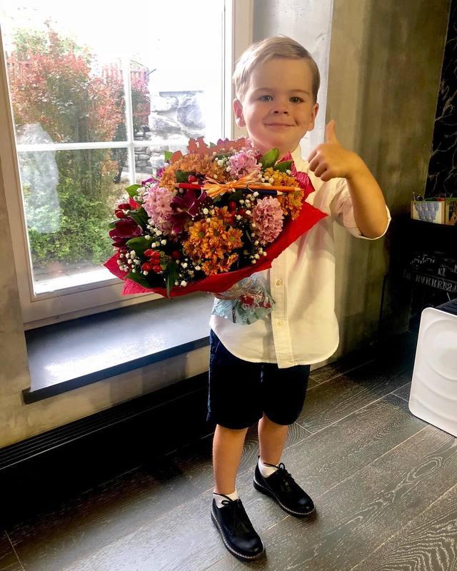 Сергей Лазарев отдал 4-летнего сына в детский сад