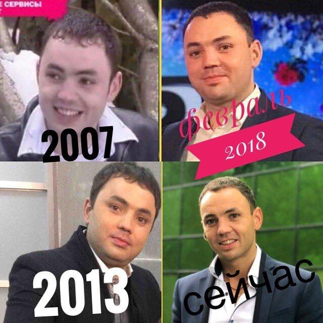 Александр Гобозов показал, как он менялся с 2007 года