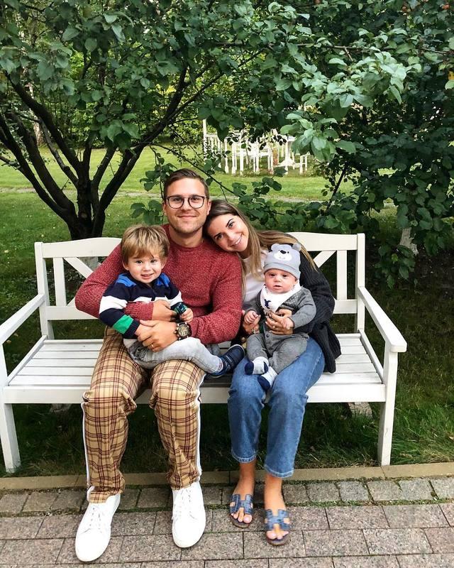 Галина Юдашкина поделилась трогательным фото с 5-месячным сыном