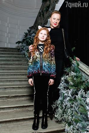 Александра Вертинская с дочкой Лидой