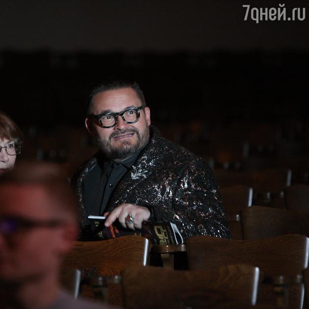 Александр Васильев на репетиции спектакля
