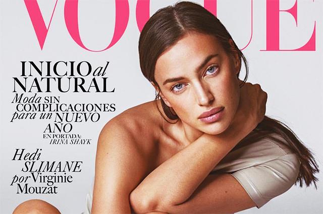 Слетение рук, сплетение ног: Ирина Шейк в необычной позе снялась для мексиканского Vogue
