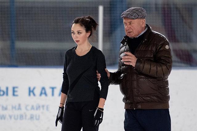 Елизавета Туктамышева и Алексей Мишин