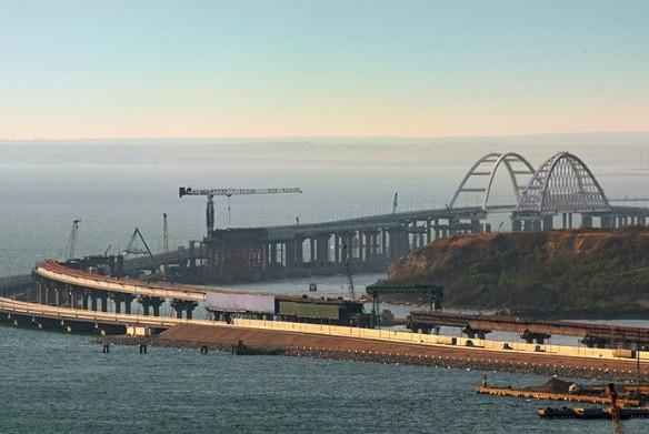 Железнодорожная часть Крымского моста будет открыта в конце 2019 года. Фото: most.life/multimedia