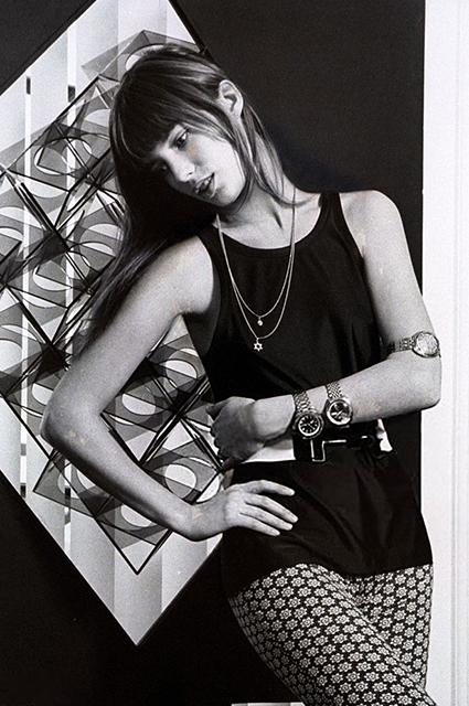 Джейн Биркин, в 1971 году