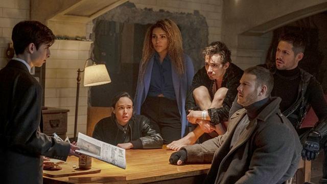 Кадр из сериала Академия
