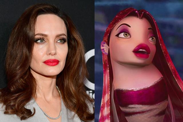 Анджелина Джоли и Лола
