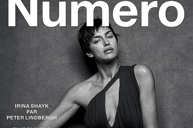 Ирина Шейк появилась на обложке французского глянца