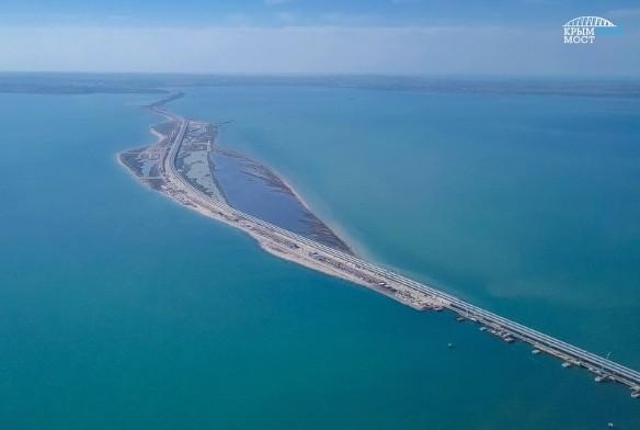 Длина Крымского моста – около 20 километров. Фото: most.life/multimedia