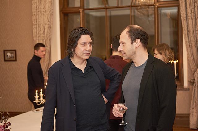 Дмитрий Ликин и Дмитрий Ямпольский