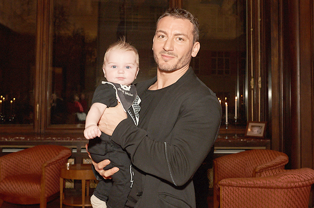 Карен Шаинян с сыном Марком