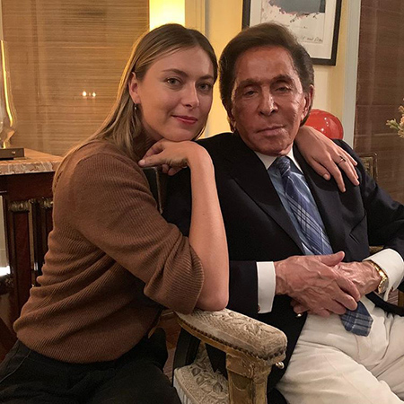 Мария Шарапова и Валентино Гаравани