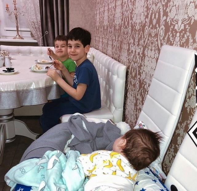 Фото детей участников Дома-2 (8.02.2019)