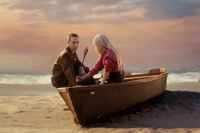 Кадр из нового клипа Светланы Лободы