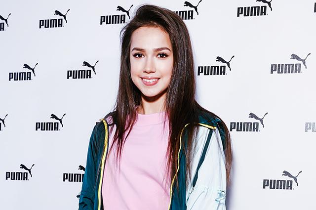 Алина Загитова стала амбассадором Puma и представила новую коллекцию в Москве