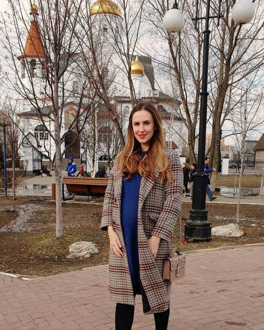 Беременная Ольга Гажиенко боится растолстеть