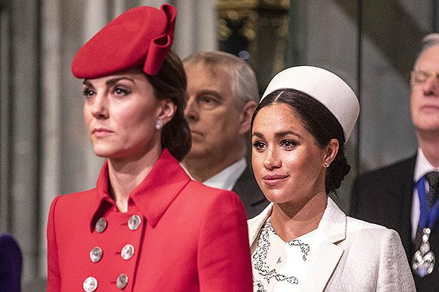 Бывший дворецкий принцессы Дианы прокомментировал слухи о вражде Кейт Миддлтон и Меган Маркл