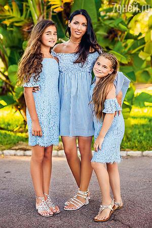 Алсу с дочерьми Сафиной иМикеллой