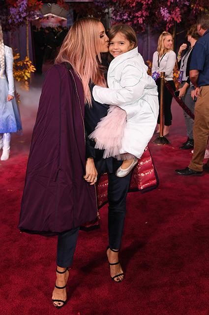 Эшли Симпсон с дочерью Джаггер