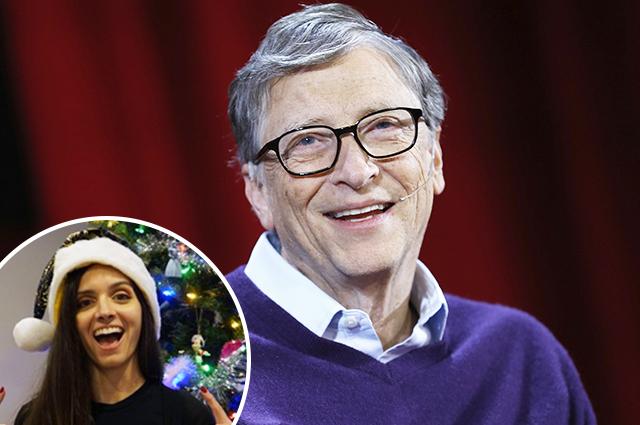 Билл Гейтс подарил незнакомке в
