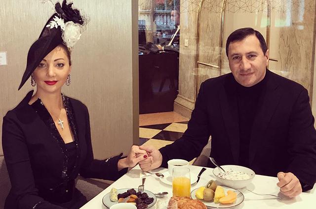 Наталья Ротенберг с возлюбленным Тиграном Арзаканцяном