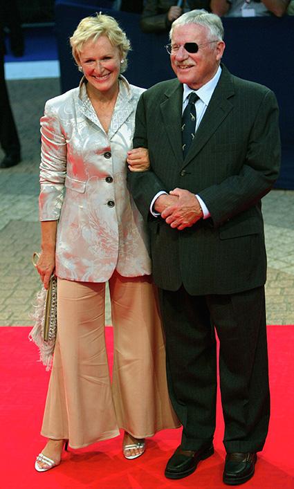 Гленн Клоуз со своим отцом Уильямом