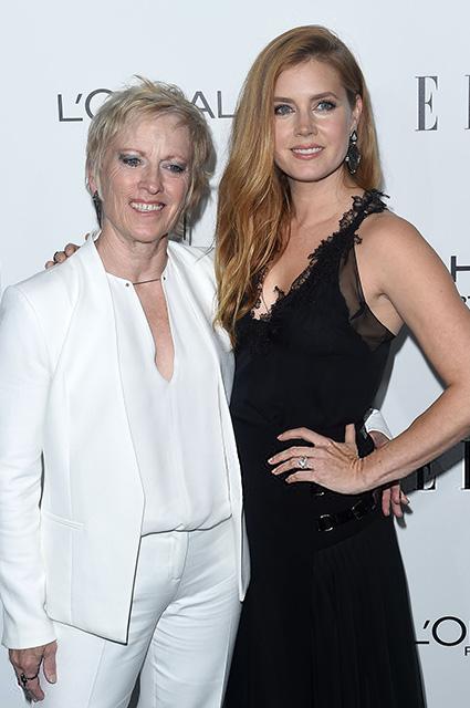 Эми Адамс со своей мамой Кейтлин