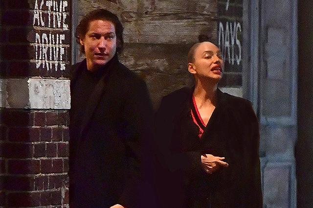Ирина Шейк и Вито Шнабель вместе нарушают правила карантина в Нью-Йорке, подогревая слухи о романе