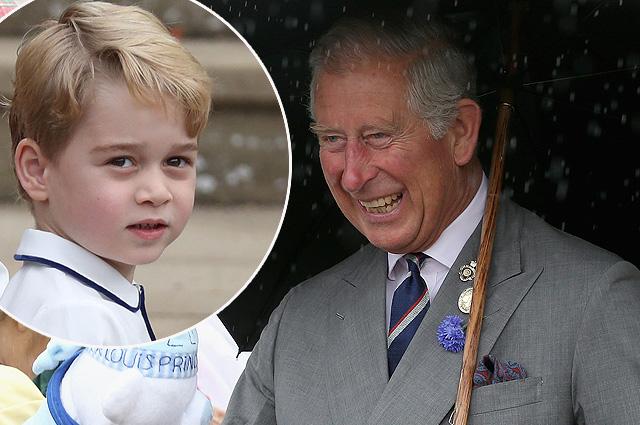 В сети обсуждают фотографию принца Джорджа из домашнего кабинета принца Чарльза