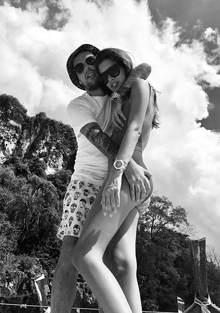 Кети Топурия и Гуф